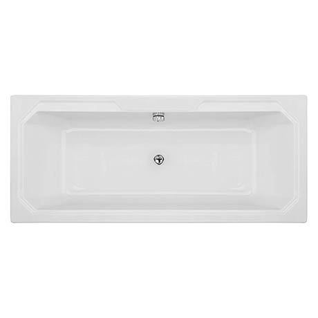 Bayswater Bathurst 1800 x 800mm Double Ended Bath + Legset