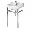 Bayswater Fitzroy 1TH Basin & Chrome Wash Stand profile small image view 1