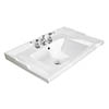 Bayswater 600mm Traditional 3TH Basin profile small image view 1