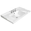 Bayswater 800mm Traditional 3TH Basin profile small image view 1