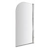 Bayswater Straight Curved Top Bath Screen profile small image view 1