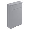 Bayswater Plummett Grey 550mm WC Unit Medium Image