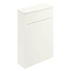 Bayswater Pointing White 550mm WC Unit profile small image view 1