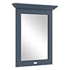 Bayswater Stiffkey Blue 600mm Flat Mirror Medium Image