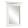 Bayswater Pointing White 600mm Flat Mirror Medium Image