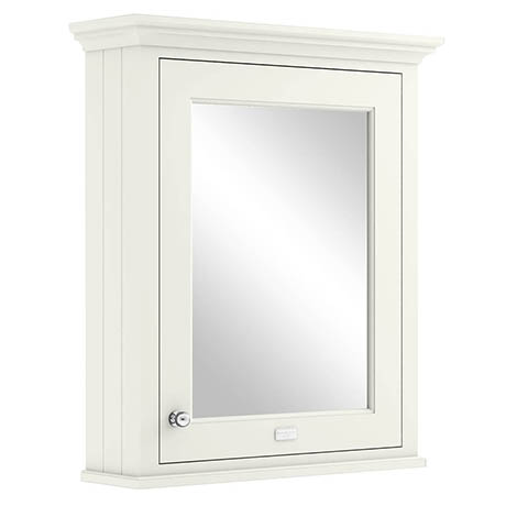 Bayswater Pointing White 600mm Mirror Wall Cabinet