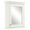 Bayswater Pointing White 600mm Mirror Wall Cabinet profile small image view 1