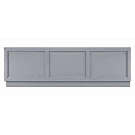 Bayswater Plummett Grey 1700mm Front Bath Panel