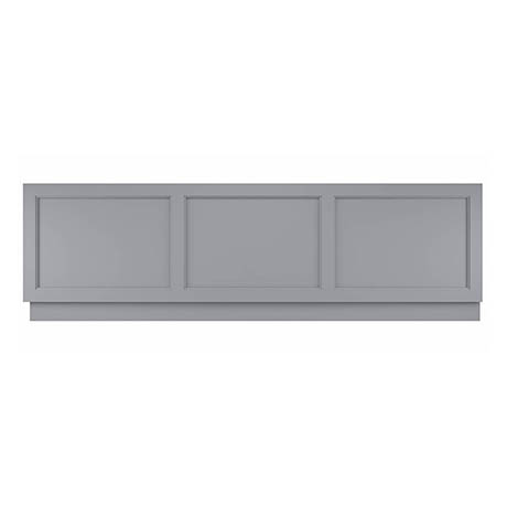 Bayswater Plummett Grey 1800mm Front Bath Panel