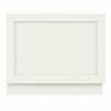 Bayswater Pointing White 700mm End Bath Panel profile small image view 1
