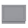 Bayswater Plummett Grey 750mm End Bath Panel profile small image view 1