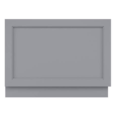 Bayswater Plummett Grey 800mm End Bath Panel