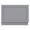 Bayswater Plummett Grey 800mm End Bath Panel profile small image view 1