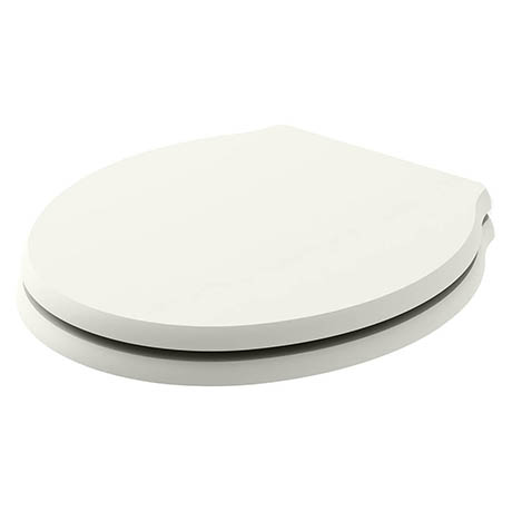 Bayswater Pointing White Porchester Soft Close Toilet Seat