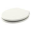 Bayswater Pointing White Porchester Soft Close Toilet Seat profile small image view 1