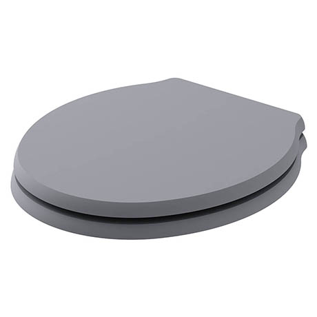 Bayswater Plummett Grey Porchester Soft Close Toilet Seat