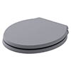 Bayswater Plummett Grey Porchester Soft Close Toilet Seat profile small image view 1