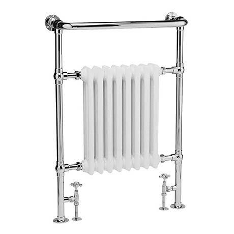 Bayswater Clifford Heated Towel Rail Radiator 965 x 673mm