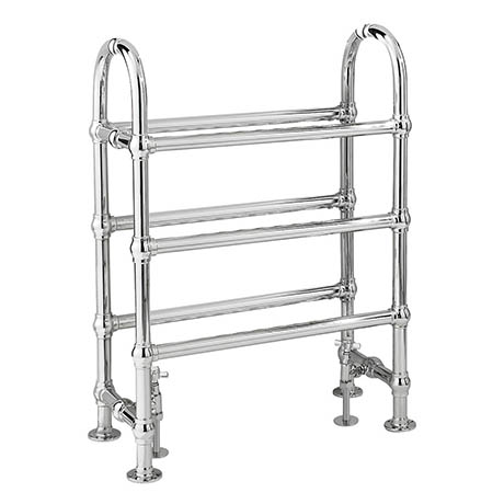 Bayswater Benjamin Freestanding Heated Towel Rail 780 x 685mm