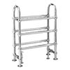 Bayswater Benjamin Freestanding Heated Towel Rail 780 x 685mm profile small image view 1