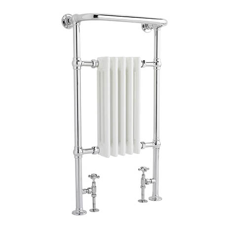 Bayswater Clifford Heated Towel Rail Radiator 965 x 540mm