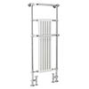 Bayswater Franklyn Heated Towel Rail Radiator 1500 x 575mm profile small image view 1