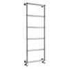 Bayswater Juliet Wall Hung Heated Towel Rail 1548 x 598mm profile small image view 1