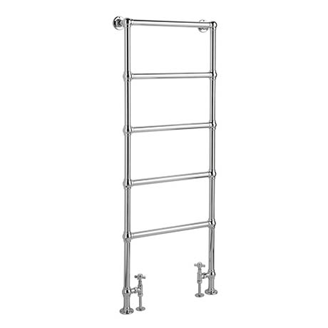 Bayswater Juliet Floor Mounted Heated Towel Rail 1549 x 598mm
