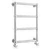 Bayswater Sophia Wall Hung Heated Towel Rail profile small image view 1