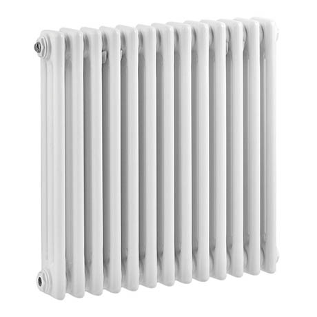 Bayswater Nelson White Triple Column Radiator 600 x 606mm