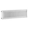 Bayswater Nelson White Triple Column Radiator 300 x 1011mm profile small image view 1