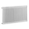 Bayswater Nelson White Triple Column Radiator 600 x 1011mm profile small image view 1