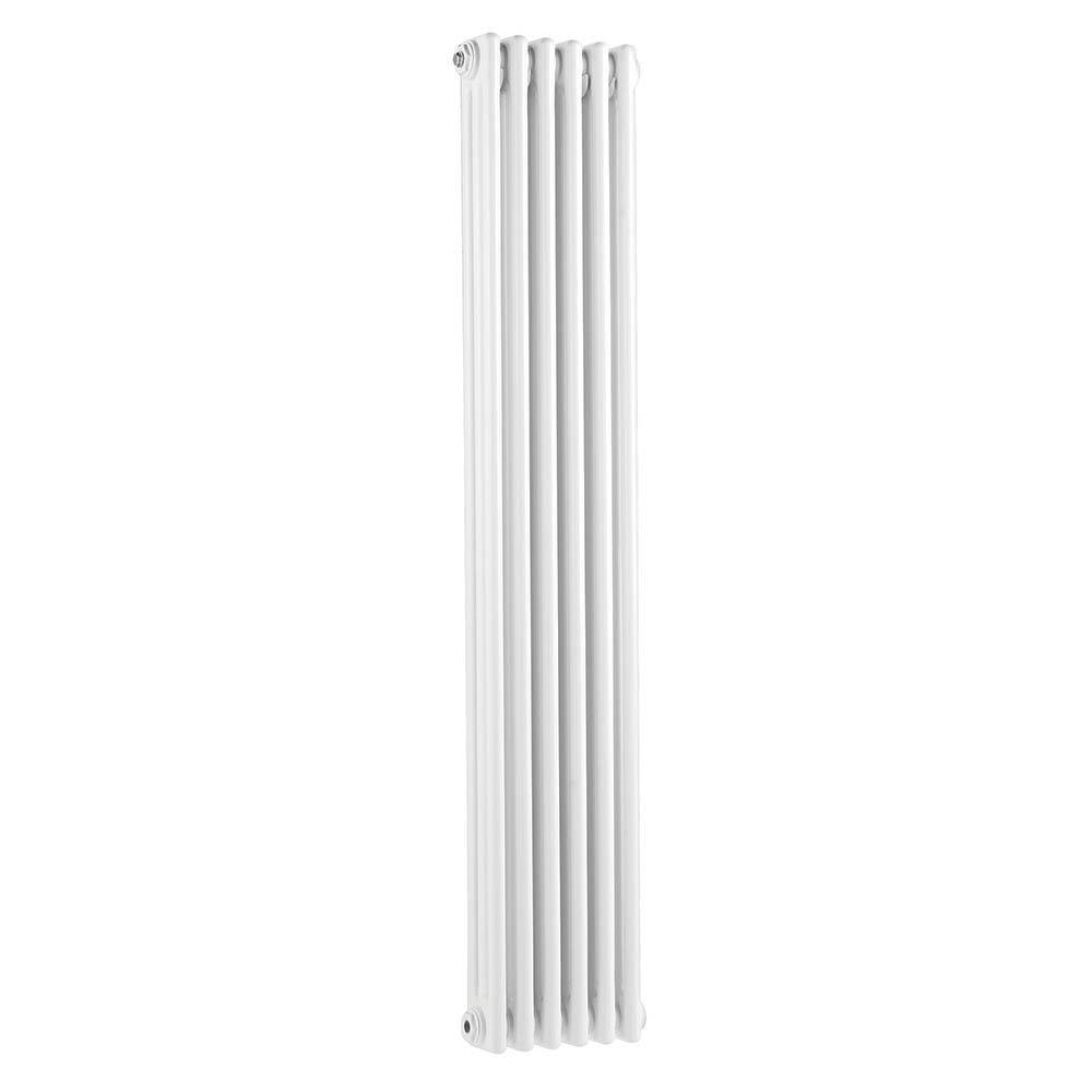 Bayswater Nelson White Triple Column Radiator 1500 x 291mm