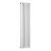 Bayswater Nelson White Triple Column Radiator 1500 x 381mm profile small image view 1