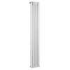 Bayswater Nelson White Triple Column Radiator 1800 x 291mm profile small image view 1