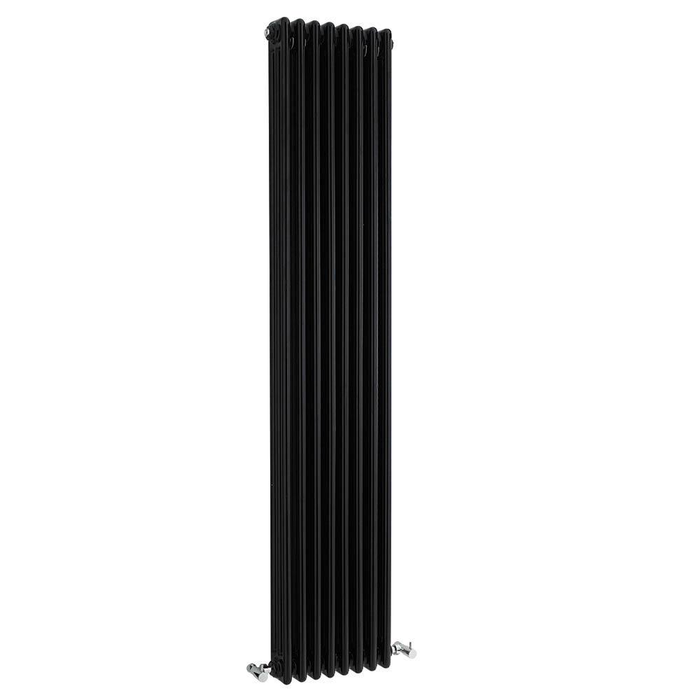 Bayswater Nelson Black Triple Column Radiator 1800 x 381mm