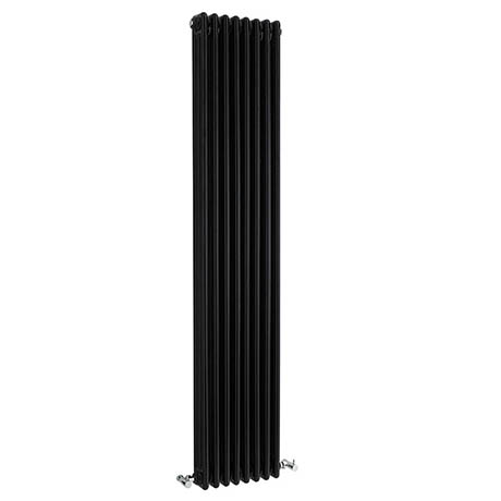 Bayswater Nelson Black Triple Column Radiator 1800 x 381mm
