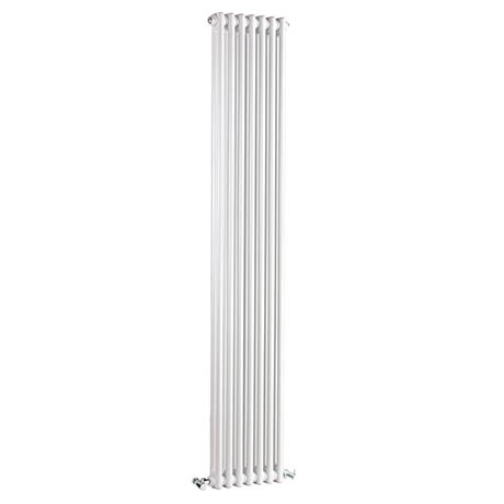 Bayswater Nelson White Double Column Radiator 1800 x 335mm