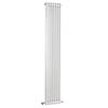 Bayswater Nelson White Double Column Radiator 1800 x 335mm profile small image view 1