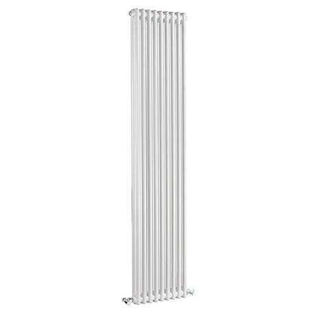 Bayswater Nelson White Double Column Radiator 1800 x 425mm