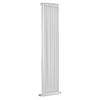Bayswater Nelson White Double Column Radiator 1800 x 425mm profile small image view 1