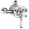 Bayswater Dual Exposed Thermostatic Shower Valve profile small image view 1
