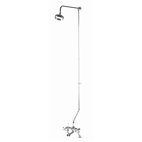 Bayswater Traditional Rigid Riser Kit for Bath Shower Mixer