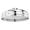 "Bayswater Traditional 8"" Apron Fixed Shower Head profile small image view 1"