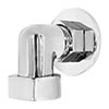 Bayswater Back to Wall Shower Outlet Elbow profile small image view 1