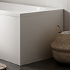 End Panel for B Shaped Baths - BBTEP profile small image view 1