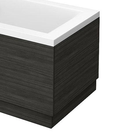 Brooklyn Black Wood Effect End Bath Panels - Various Sizes