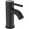 Ideal Standard Ceraline Silk Black Mini Basin Mixer profile small image view 1