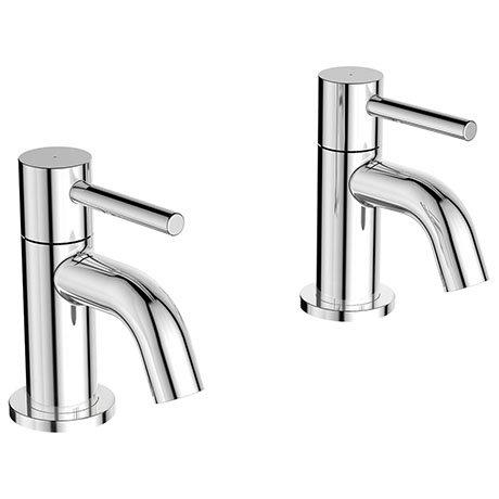 Ideal Standard Ceraline Bath Pillar Taps - BC187AA