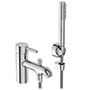 Ideal Standard Ceraline 1 Hole Bath Shower Mixer - BC191AA profile small image view 1